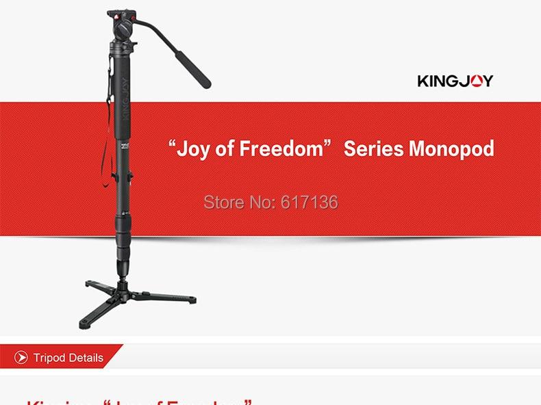 Kingjoy MP-3008F Monopod 01