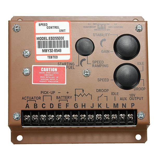 Esd5500E Sale New Arrival Gasoline Generator Parts Speed Governor Esd5500e Controller Esd5500e+fast Shipping все цены