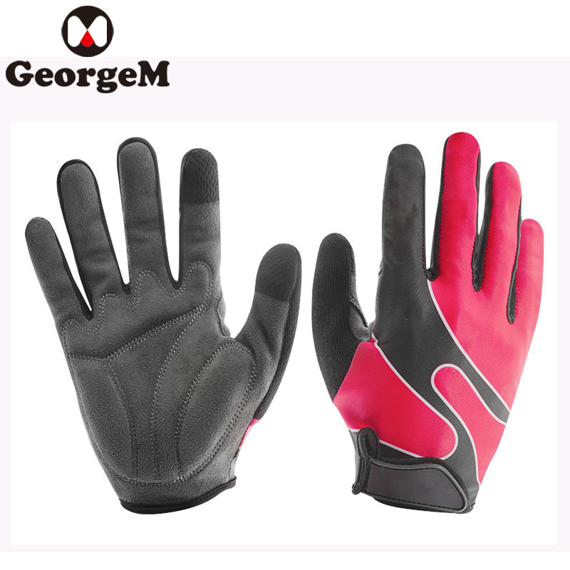 Touch Screen Bicycle Glove MTB Road Riding Gloves Long Fnger Climbing Fitness Gloves Breathable Cycling MTB Road Bike Glove