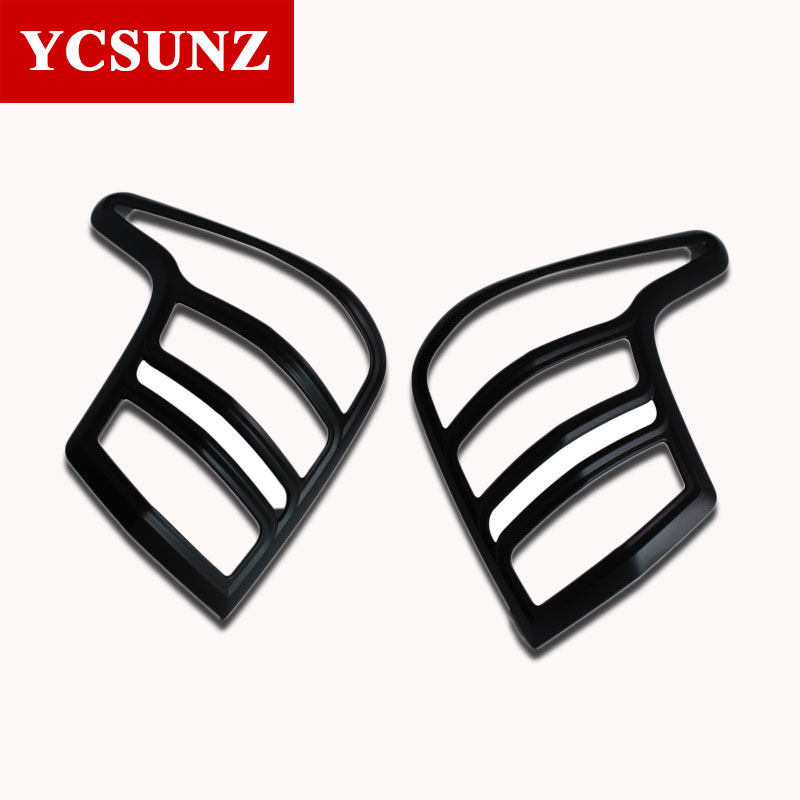 2016-2017 ABS Car Strips Trim For Mitsubishi L200 Triton Accessories Rear Lamp Cover For Mitsubishi L200 Car Styling Ycsunz high quality chrome tail light cover for mitsubishi l200 triton free shipping