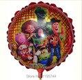 20 Pçs/lote, frete Grátis, 8.5 Polegada O Toy Story Rowstar Balão, Chá de bebê Balão Da Folha, festa/Aniversário/Casamento Decorações