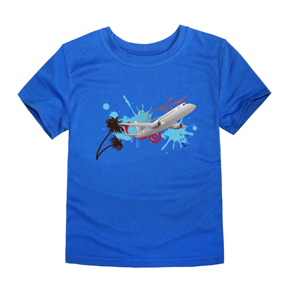 HTB1qR9iQVXXXXadXpXXq6xXFXXX4 - CHUNJIAN 2017 children t shirts for girls boys cotton t shirt girls T-Shirt kids t shirts summer Tops & Tees kids plane shirt