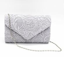 Shoubang Elegant Designer Women Envelope Clutches Flap Pochette Soiree Lace  Crochet Handbag Fashion Evening Bags Party 56d2828792e8