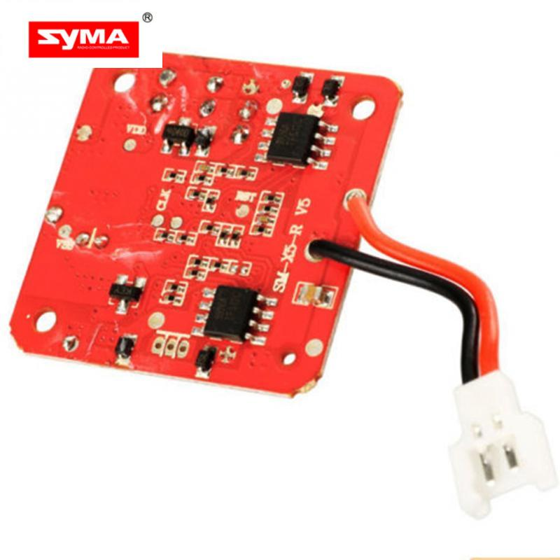 SYMA X5 X5C PCB Receiver Board 10 RC Helicopter Quadcopter Drone Spare Parts syma x5 x5c x5c 1 explorers new version without camera transmitter bnf