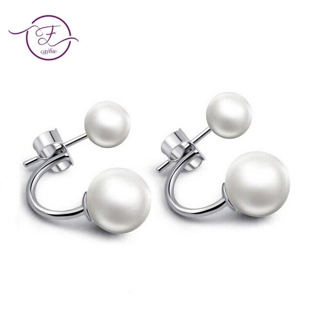 925 Sterling Silver Stud Earrings for women