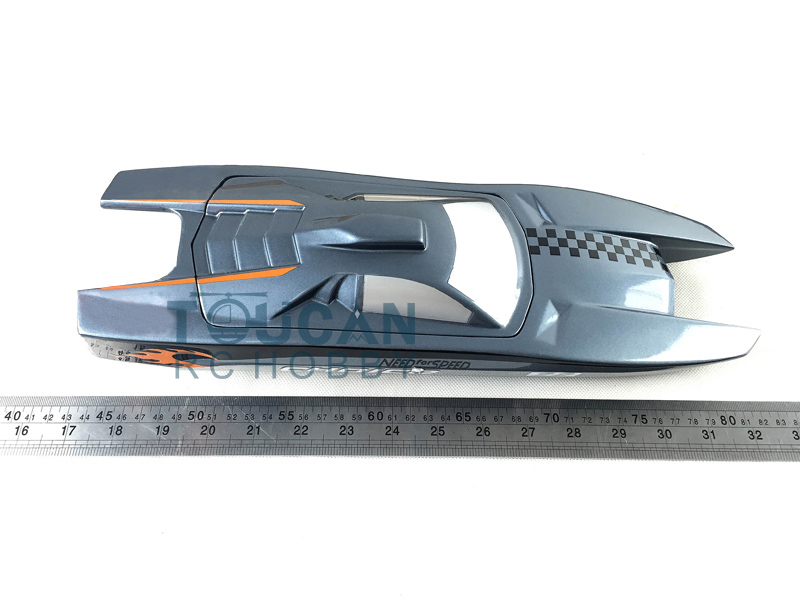 M380 KIT King Kong Electric Racing Speed Boat Catamaran Pre-Painted RC Boat Hull Only  for advanced Player Grey Free Shipping