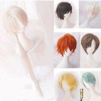 Mystic Messenger Cosplay Harajuku Curly Hair Wig 707 Yoosung Zen V Japanese Hair Costume Luciel Choi