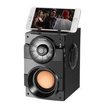 GELANG Outdoor Bluetooth Speaker Subwoofer Portable Home Small Audio High Power Player Support Remote Control FM MIC TF AUX USB leory 220v bluetooth speaker led light display 15inch big power subwoofer speaker with mic tf remote control player