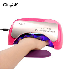 Professional 48W CCFL LED Lamp Nail Dryer For Nail Gel Polish 18K Lamp Dryers Art Manicure Automatic Induction Timer Setting