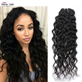 8A Malaysian Virgin Hair Water Wave 4Pcs Wet and Wavy Human Hair Weave Cheap Virgin Malaysian Curly Hair Bundle Deals Kinky wave