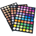 Hot venta de sombras de ojos maquillaje profesional makes up kit de maquillaje paleta de 180 colores de sombra de ojos conjunto cosméticos