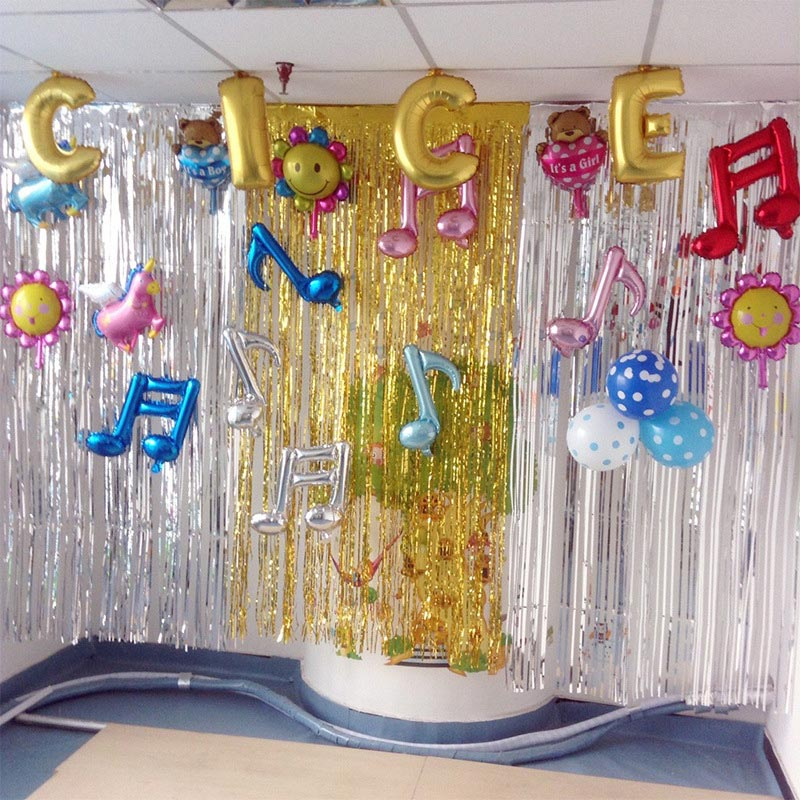 10pcs Lot Bright Tinsel Fringe Curtain Door Rain Home Room