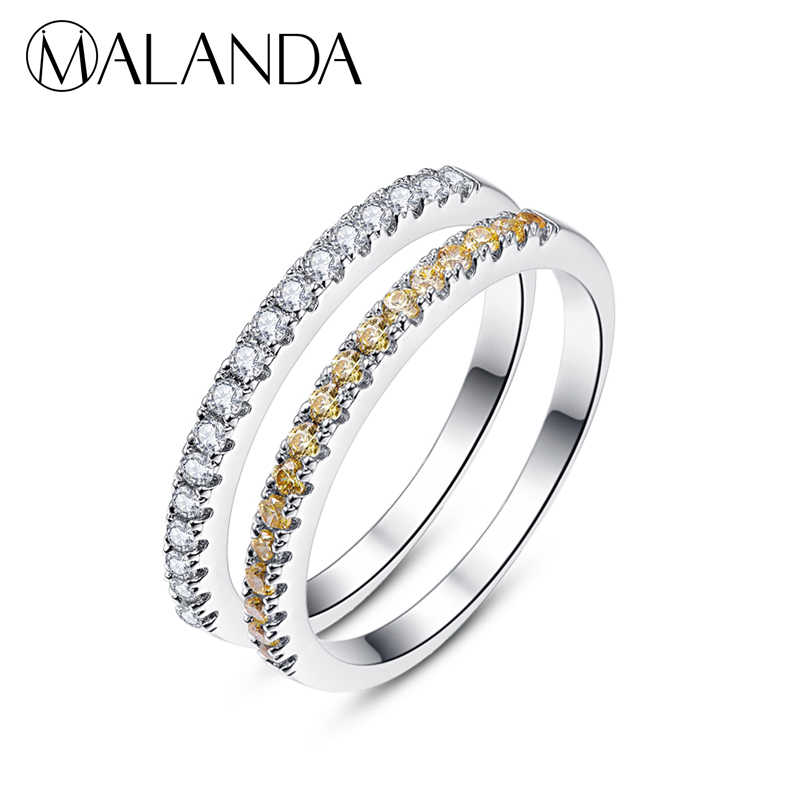 fe8fe53c020e7 Detail Feedback Questions about MALANDA White Crystal Rings for ...