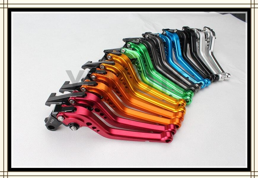 Short CNC Brake Clutch Levers For   Honda CB1000R 2008 09 10 11 12 13 2014 CBR1000RR / FIREBLADE 2004 2005 2006 2007 adjustable billet short folding brake clutch levers for honda xl 1000 varadero 2001 2002 2003 2004 2005 06 07 08 09 10 11 12 13