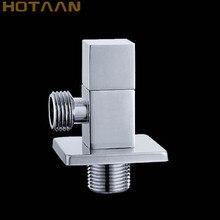 Треугольный клапан аксессуар для ванной комнаты 1/2*1/2 suqare угловые клапаны, YT-5137