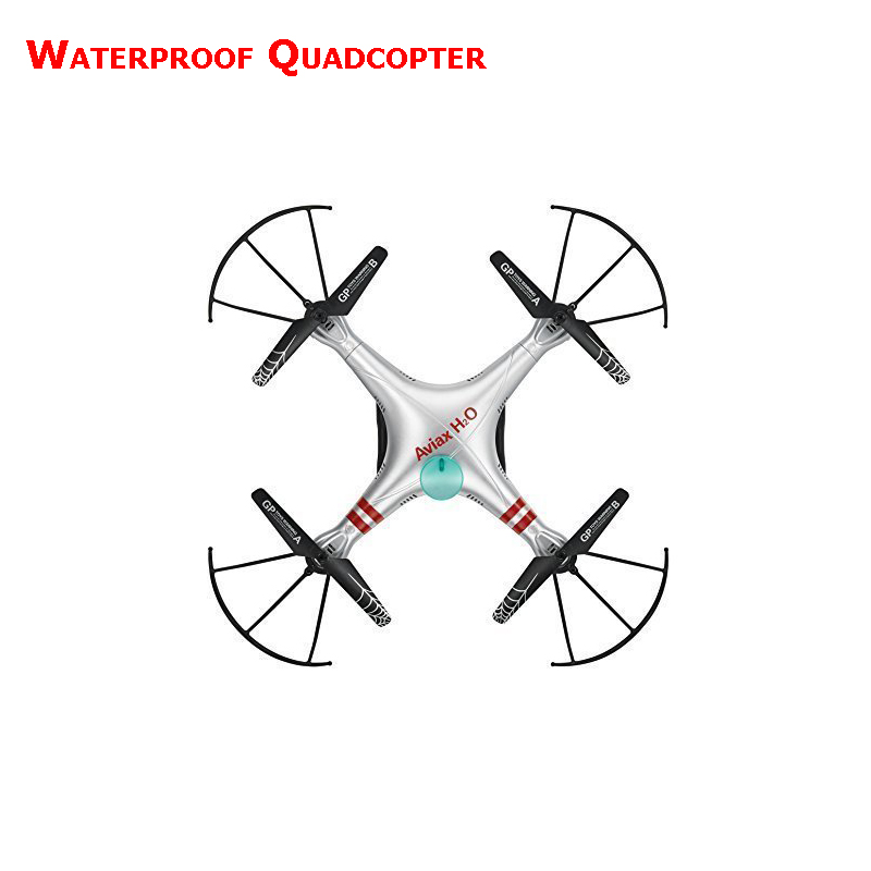 Aviax H2O waterproof Drone Headless Mode 2.4GHz 6Axis Gyro Quadcopter RC Explorers LED flashing lights support DIY RTF
