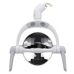[Россия в наличии] отражающий Точечный светильник, круглая Светодиодная лампа стоматологическая оральный светильник для стоматологическо...