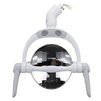 New Reflect Oral Dental LED Lamp Light Spotlight Round for Dentistry Operation Chair, Inductive Infrared ON/OFF