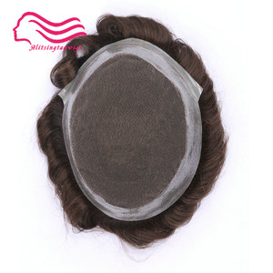 Image 4 - 100% human  remy hair men toupee , Australia brand, french lace with skin around .  hair replacement,hair   men toupee in stock