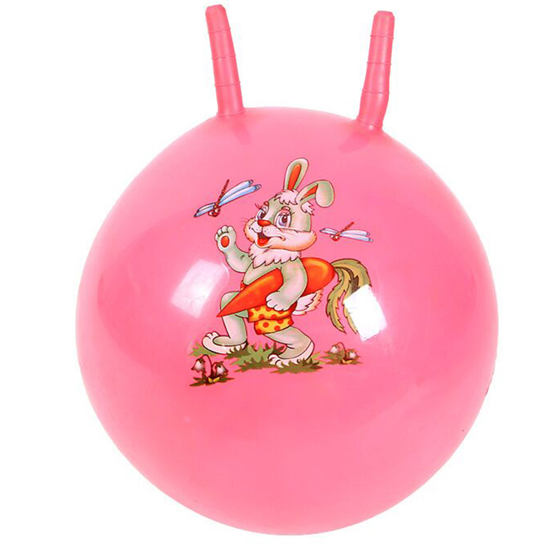 45CM Thickened Bouncing Ball Toys High Quality Inflatable Cartoon Jumping Ball Bounce Stress Ball Kids Health Care Toy Balls