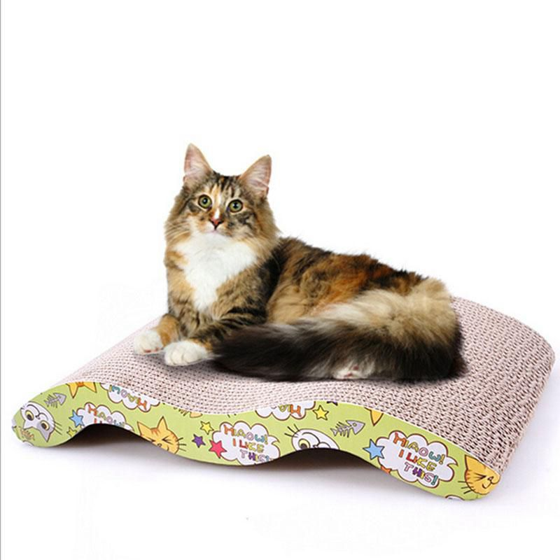 Cat Toy Interactive Scratch Board Kitten Bed Mats Corrugated Scratcher Training Toys For Cat Porduct For Kitten Gato Scratcher