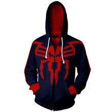 цена на Revenge Alliance Sweatshirt Spiderman Movie Cosplay 3D Sweatshirt Hoodie Men 3D Hoodies Set  Zipper