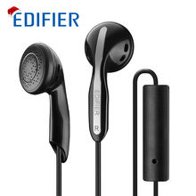 Best Buy Edifier P180 HIFI Earphones High-end Performance Stereo Bass Earphone with Mic For Iphone Samsung Huawei Mobile Phone Tablet