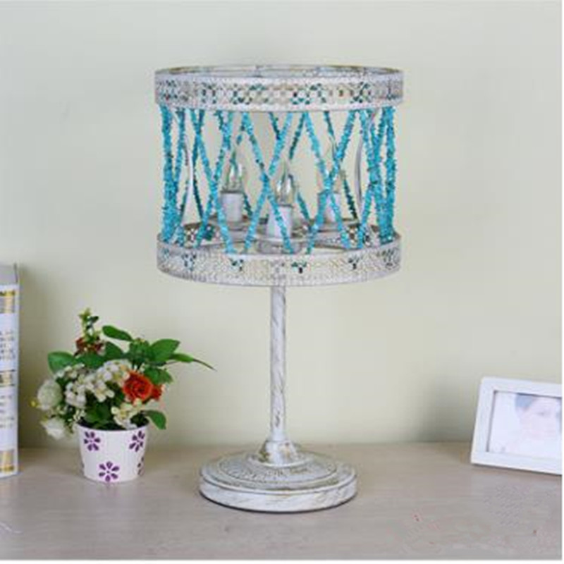 Modern Creative Europe Style Livingroom Table Lamp Bedroom Restaurant Cafe Marble Stone Lamp Free Shipping