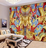 Modern Curtains For Living Room bamboo circle Blackout Backdrop Curtain For Bedroom Home Decoration
