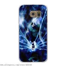 Naruto Kakashi White Case Cover for Samsung