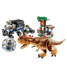 Jurassic World Brutal Raptor Building Blocks Jurrassic 2 Dinosaur Figures Bricks Toys Children Dino Compatible