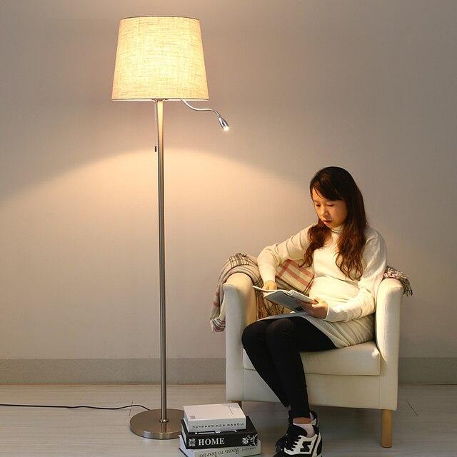 Scandinavo moderno e minimalista soggiorno lampada da terra lampada ...
