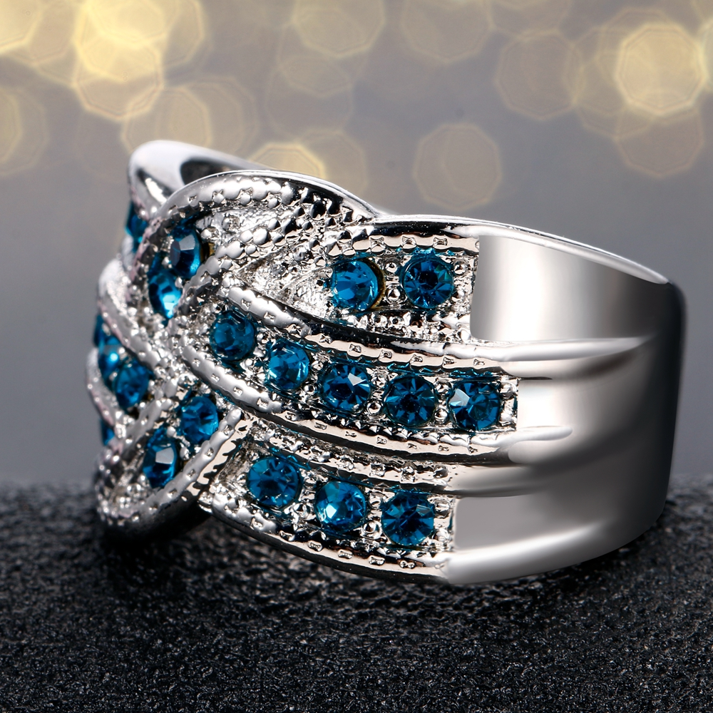 HTB1qRDadFyZBuNjt jJq6zDlXXac Fine Jewelry Luxury Party Queen Aquamarine Finger Rings For Women 925 Silver Jewelry Wedding Engagement Ring Gift Wholesale