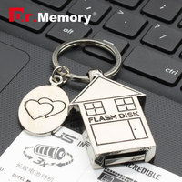 Usb Flash Drive Metal Key Pendrive 4G Memory Card 8G Micro Usb Drive 16G Luxury Pen