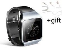 ELECTSHONG 8 GB Bluetooth SmartWatch MP3 player w/FM Tela de Toque Pedo Metros Relógio Mundial + Fone de Ouvido (dom)