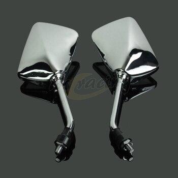 Rétroviseur arrière universel pour Honda CB400 CB750 CB1000 CB1300 CB-1 VTEC VT250 ZRX400 VYR la plupart des scooters de moto