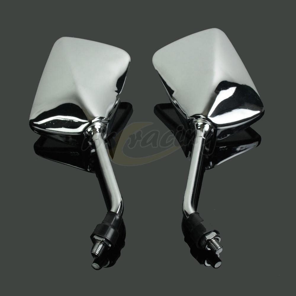 Universal Rear Side View Rearview Mirror For Honda CB400 CB750 CB1000 CB1300 CB-1 VTEC VT250 ZRX400 VYR Most Motorcycle Scooter
