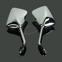 цена на Universal Rear Side View Rearview Mirror For Honda CB400 CB750 CB1000 CB1300 CB-1 VTEC VT250 ZRX400 VYR Most Motorcycle Scooter