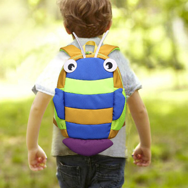 Children Kids Caterpillar Anti-lost Backpack Bag Baby Safety Leash Girls And Boys Toddler Kids Animal Harness backpack