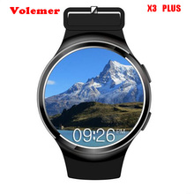 X3 Plus Good Watch Clever Clock Coronary heart Price Monitor GPS/AGPS 2G/3G Smartwatch Wristwatch Android 5.1 Bluetooth Smartwatch