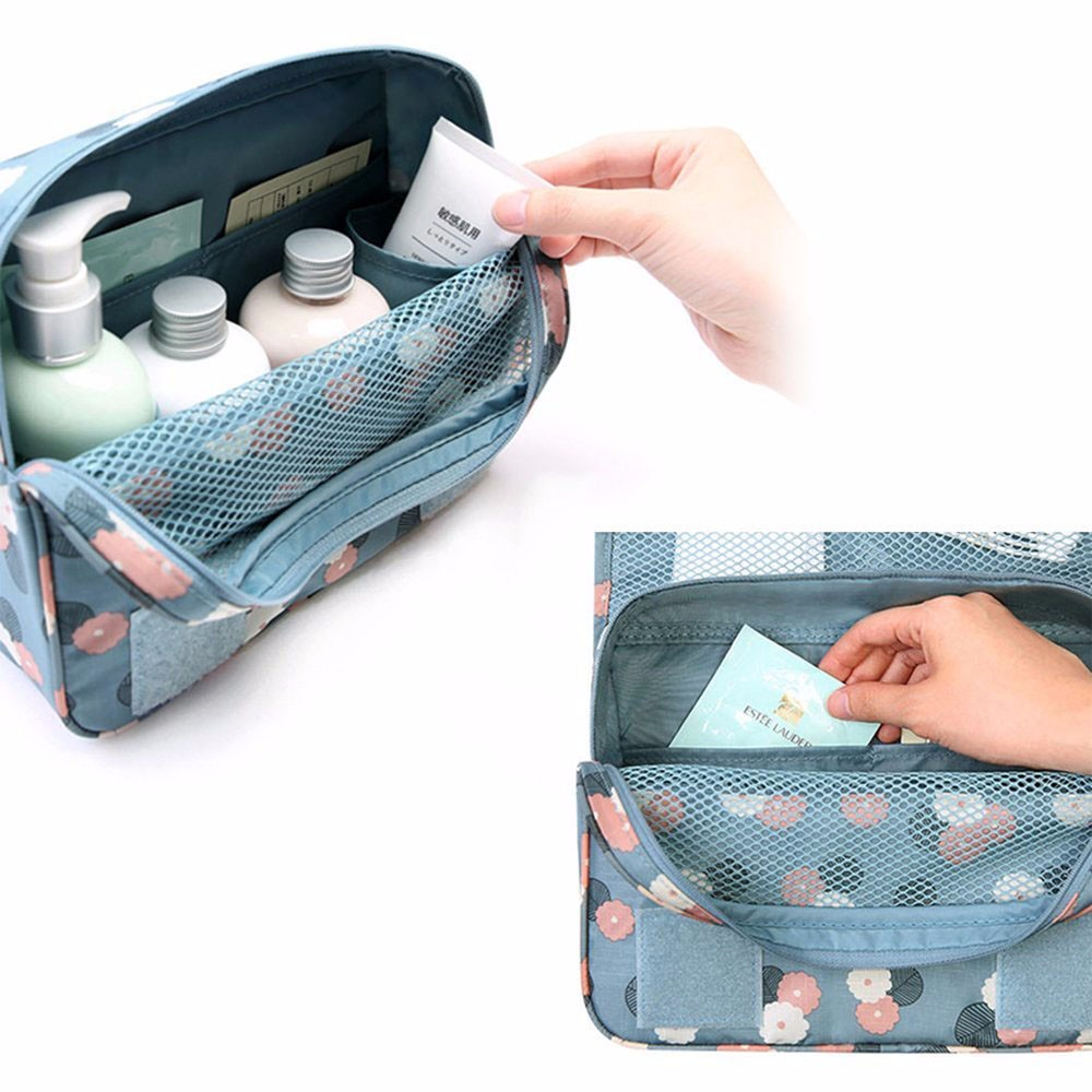 Storage Bags Whism Portable Travel Handle Nylon Shoes Organizer Bag Double Layer Waterproof Tote Pouch Bag Underwear Bra Socks Storage Bag Selling Well All Over The World