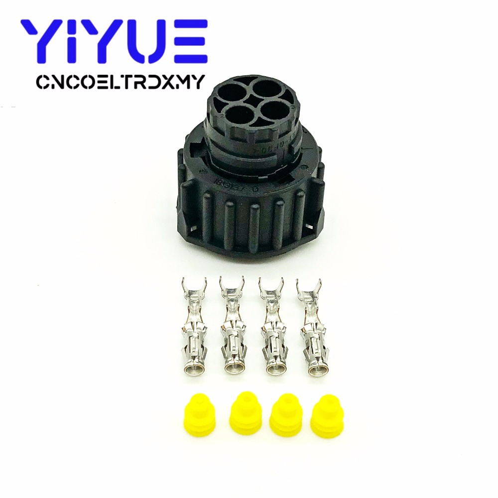 1 sets 4 pin tyco round HOWO A7 odometer speed sensor plug sealed auto connector 1-967325-1 (3)