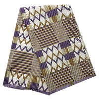 Veritable Block Tradition Pattern Real Wax fabrics Nigerian Style Batik hitarget Print high quality fabric