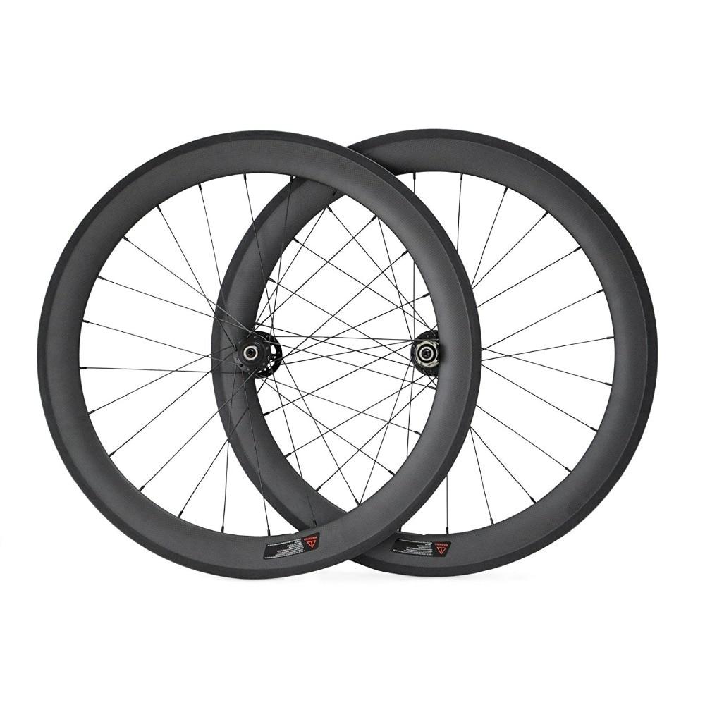 50mm Carbon Wheel Disc Brake Cyclocross Wheel Tubular 24/24 Holes only 20.5mm Width 3K/UD Weave Matte Novatec 411 412 791 792