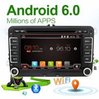 1024 600 Quad Core Android 4 4 Car Dvd Player VW Skoda POLO GOLF 5 6