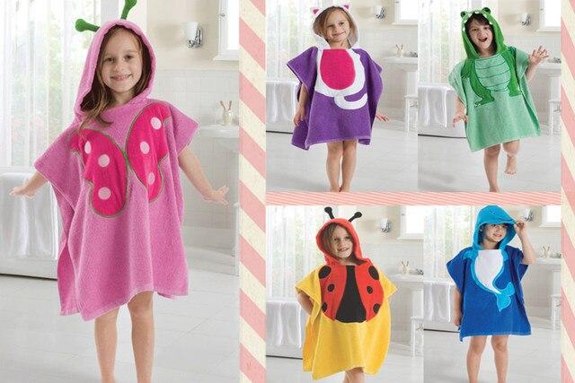 Ребенка с капюшоном полотенце / дети махровое халат / дети животных форма с капюшоном халат / детское одеяло пляжное полотенце