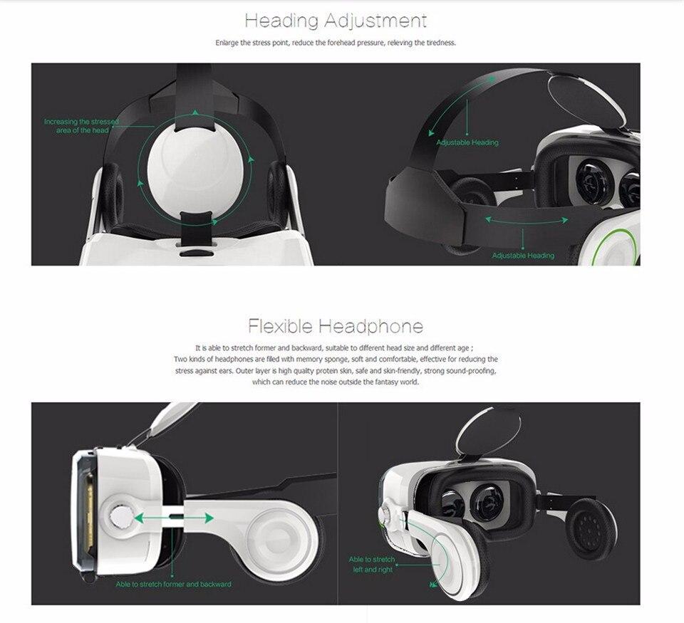 VR BOX BOBOVR Z4 Virtual Reality goggles 3D Glasses Google cardboard BOBO VR GLASSES Z4 Headset for 4.3 - 6.0 inch smartphones 36