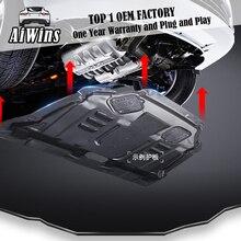 Aiwins  Car styling For Honda Odyssey Plastic engine guard 2008-2014 For Odyssey Engine skid plate fender alloy steel engine