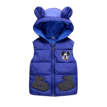 Boy Mouse Themed Hooded Vest