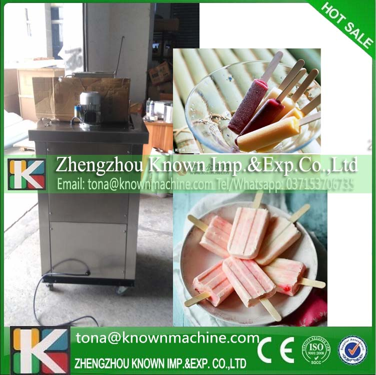 Low working noise factory direct sell ice lolly tube/ice lolly machine